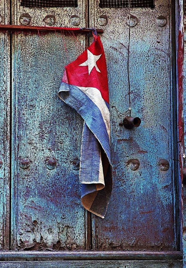Cuban flag by Marice Cohn Band